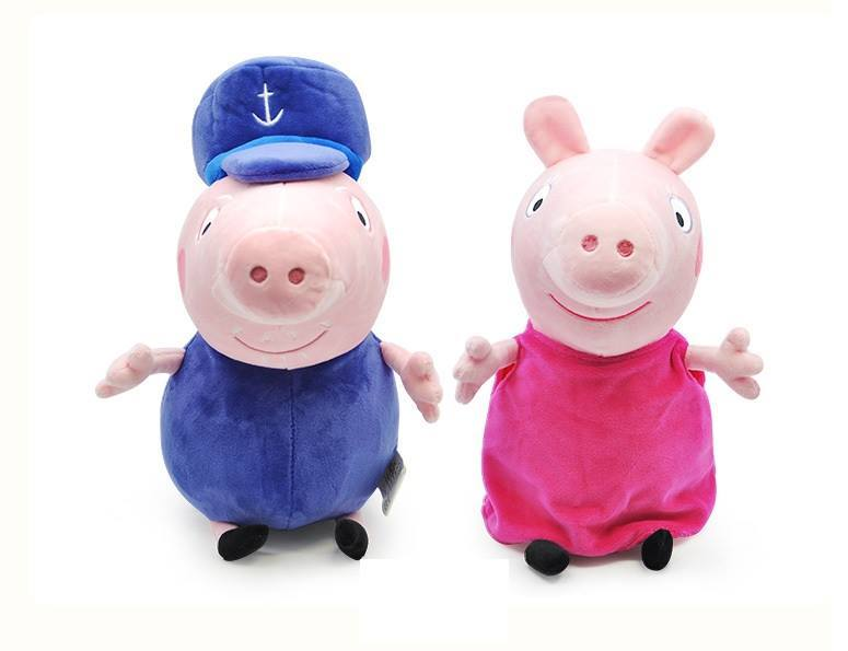 Peppa Pig Plush Toys Grandpa Granny Toysdirect