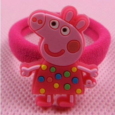Peppa Pig Rubber Band (Colorful Polka).png
