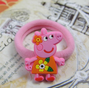 Peppa Pig Rubber Band (Orange Dress).png