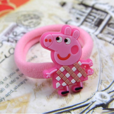 Peppa Pig Rubber Band (Pink White Grid).png