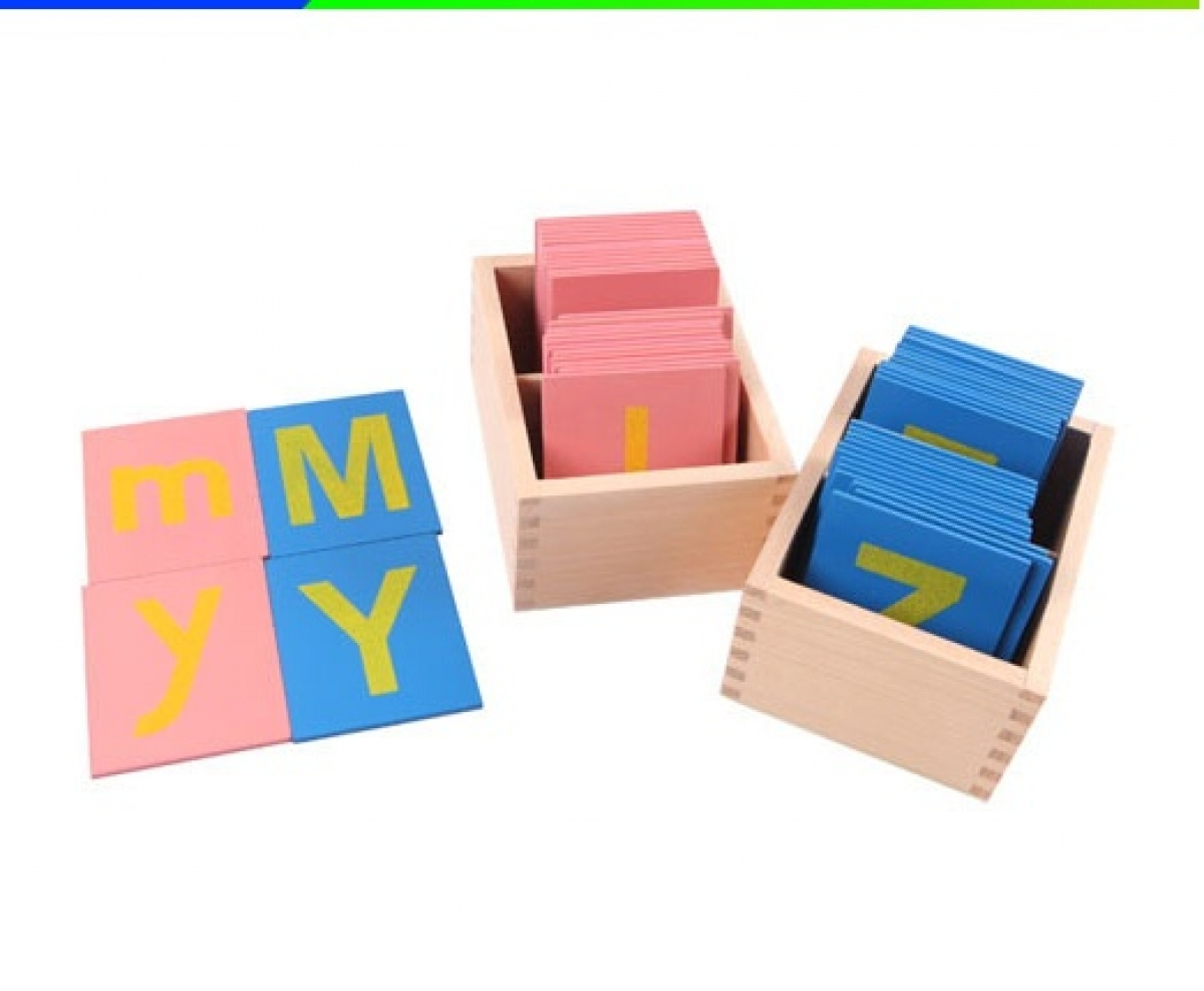 how to make block letters montessori sand paper alphabet toysdirect 22328