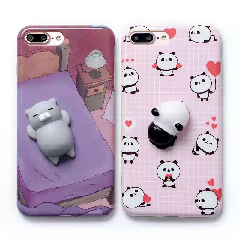 Squishy Cat For Phone Case : CL1495 Squishy Cat & Panda Phone Case (IPhone) ? OHTEMPTATIONS