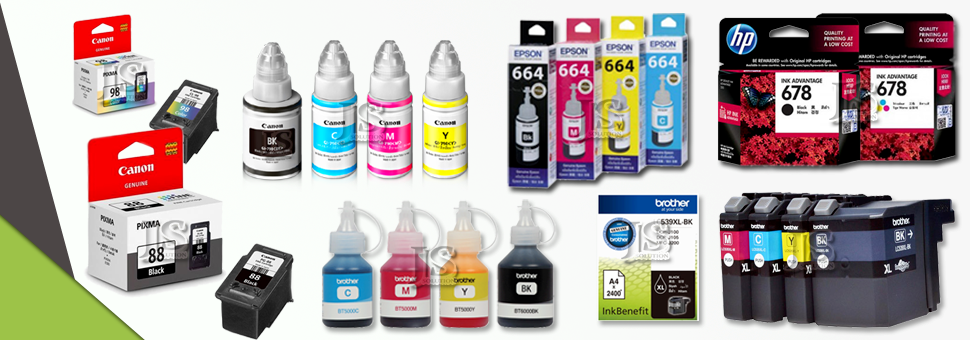 Ink Cartridge & Refill Ink