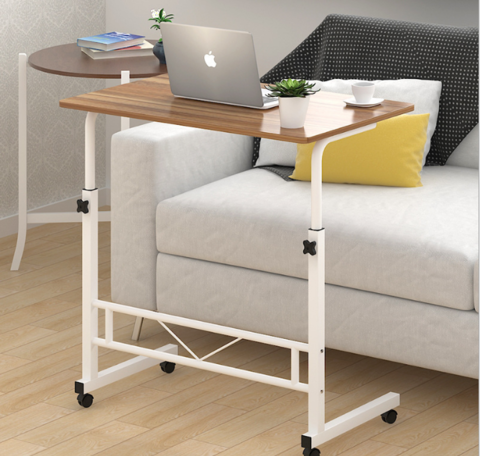 60 -40cm-Adjustable-Simple-Table-Bed-Lazy-Computer-Desk-Table-Caster-Wheel-( coffee color-vizo-1.png