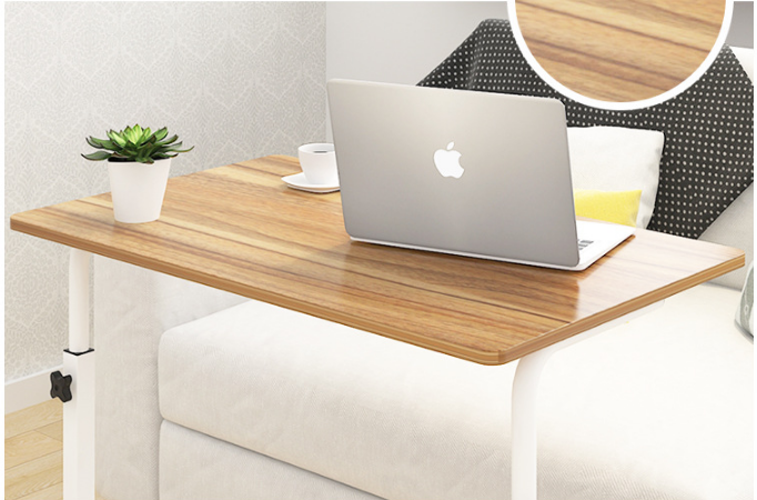 60 -40cm-Adjustable-Simple-Table-Bed-Lazy-Computer-Desk-Table-Caster-Wheel-( coffee color-vizo-4.png