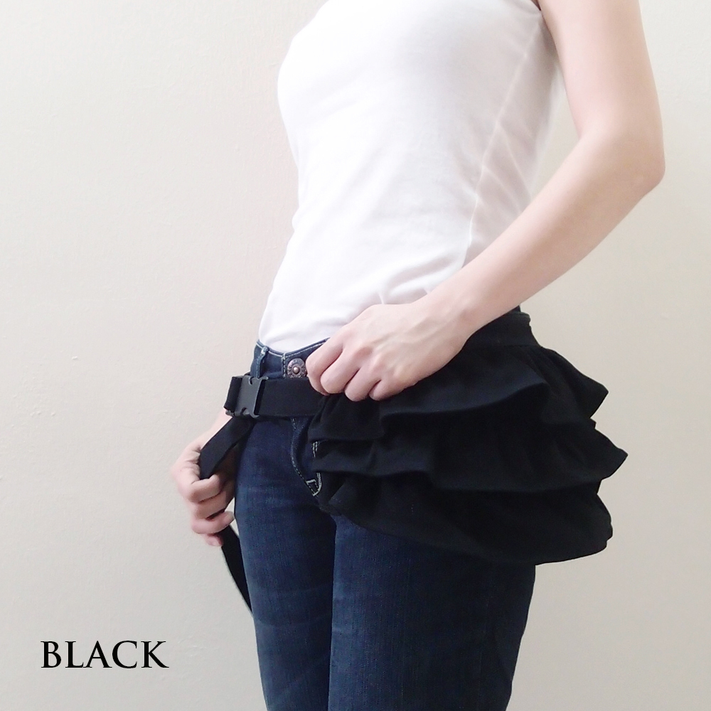 Gathered Waist Purse - BLACK Cs.jpg