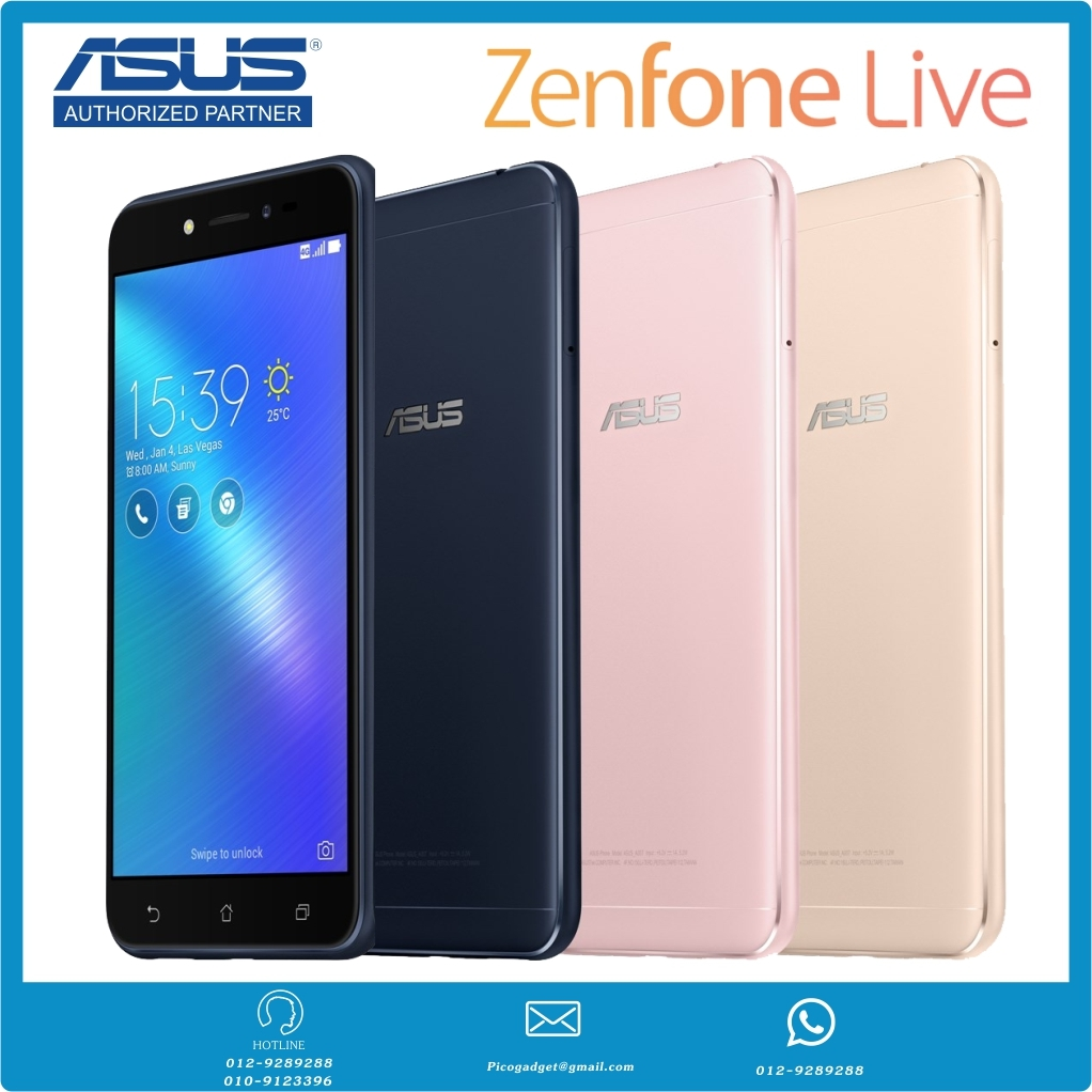 ZenFone Live 5 2GB 16GB ZB501KL Official ASUS