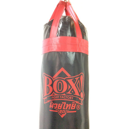 BOX!-MuayThai-serie_Punching-Bag_6-feet_BLACK-Red-strap.JPG