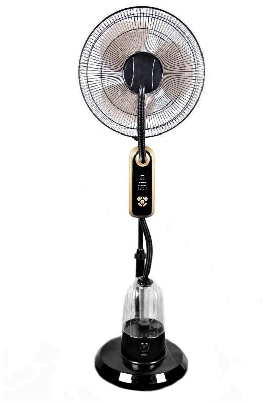 Spray Mist Fan : Air conditioning humidifier mist water spray cooling stand