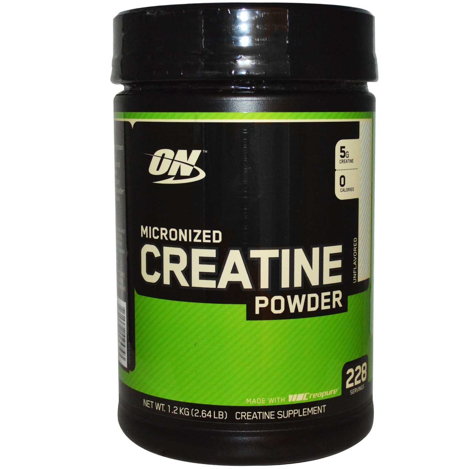 Optimum Nutrition - Creatine 1200g – Muscle Peak - No.1 24