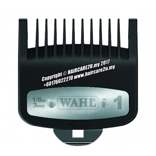 Wahl Premium Cutting Guide Comb with Metal Clip #1 3mm.jpg