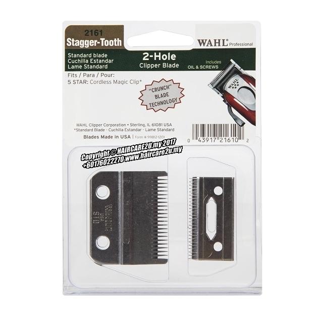 Wahl 2161 Stagger-Tooth 5 Star Magic Clip 2-Hole Clipper Blade.jpg