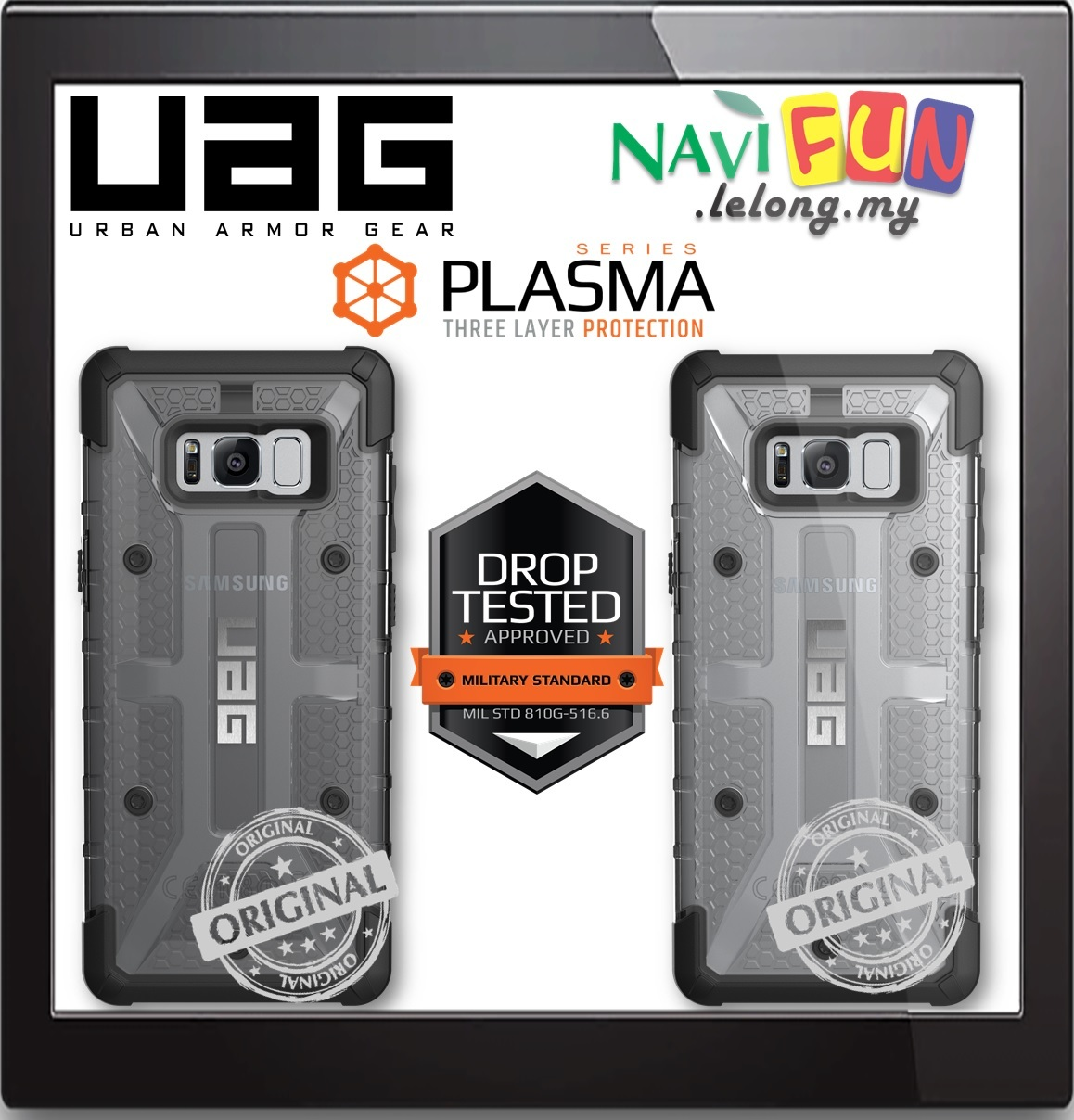 Galaxy s6 cases shop samsung cases online uag urban armor gear - Urban Armor Gear Uag Plasma Case Samsung S8 Plus