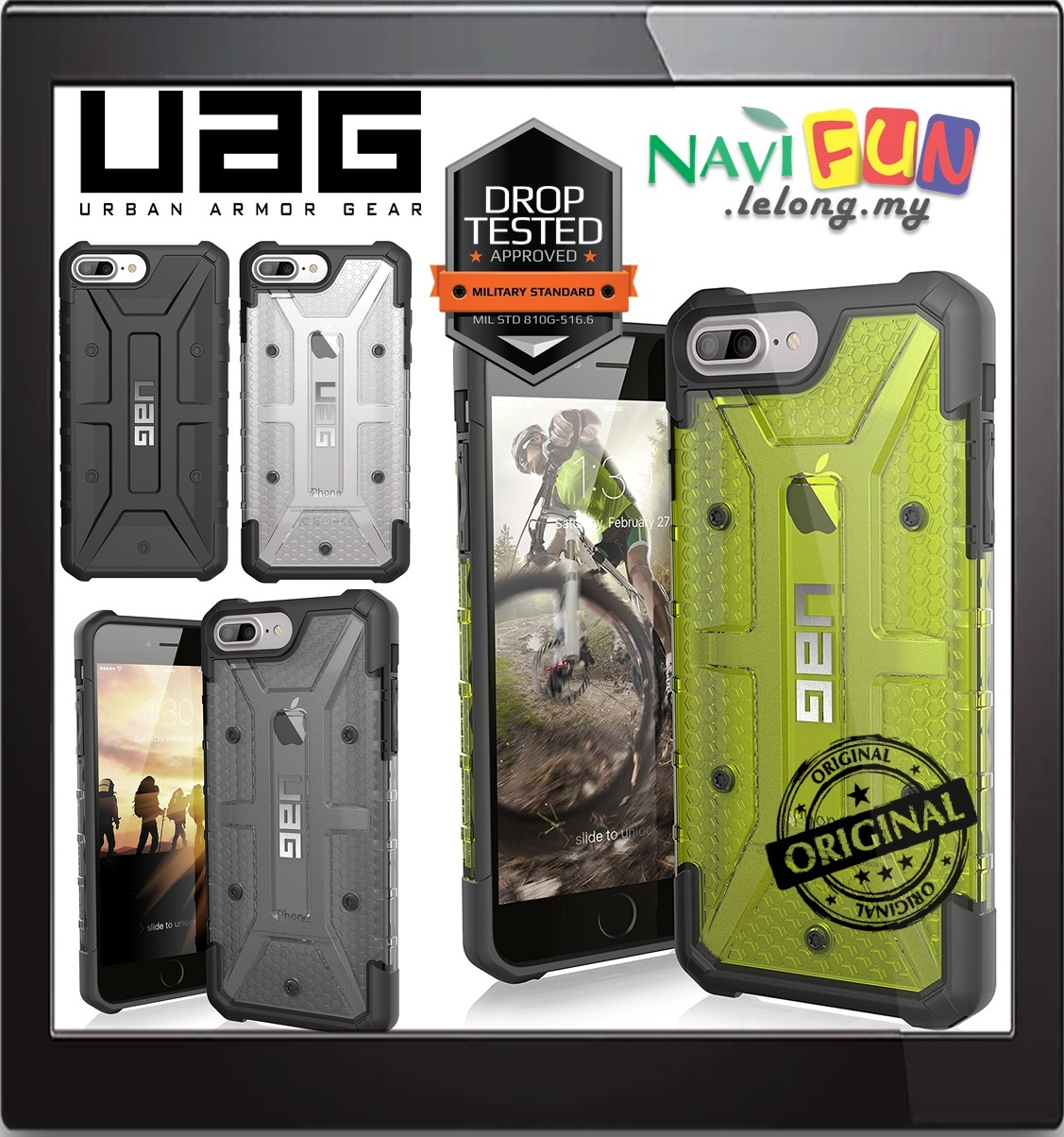 Galaxy s6 cases shop samsung cases online uag urban armor gear - Urban Armor Gear Uag Case For Iphone 7 Plus 6s Plus
