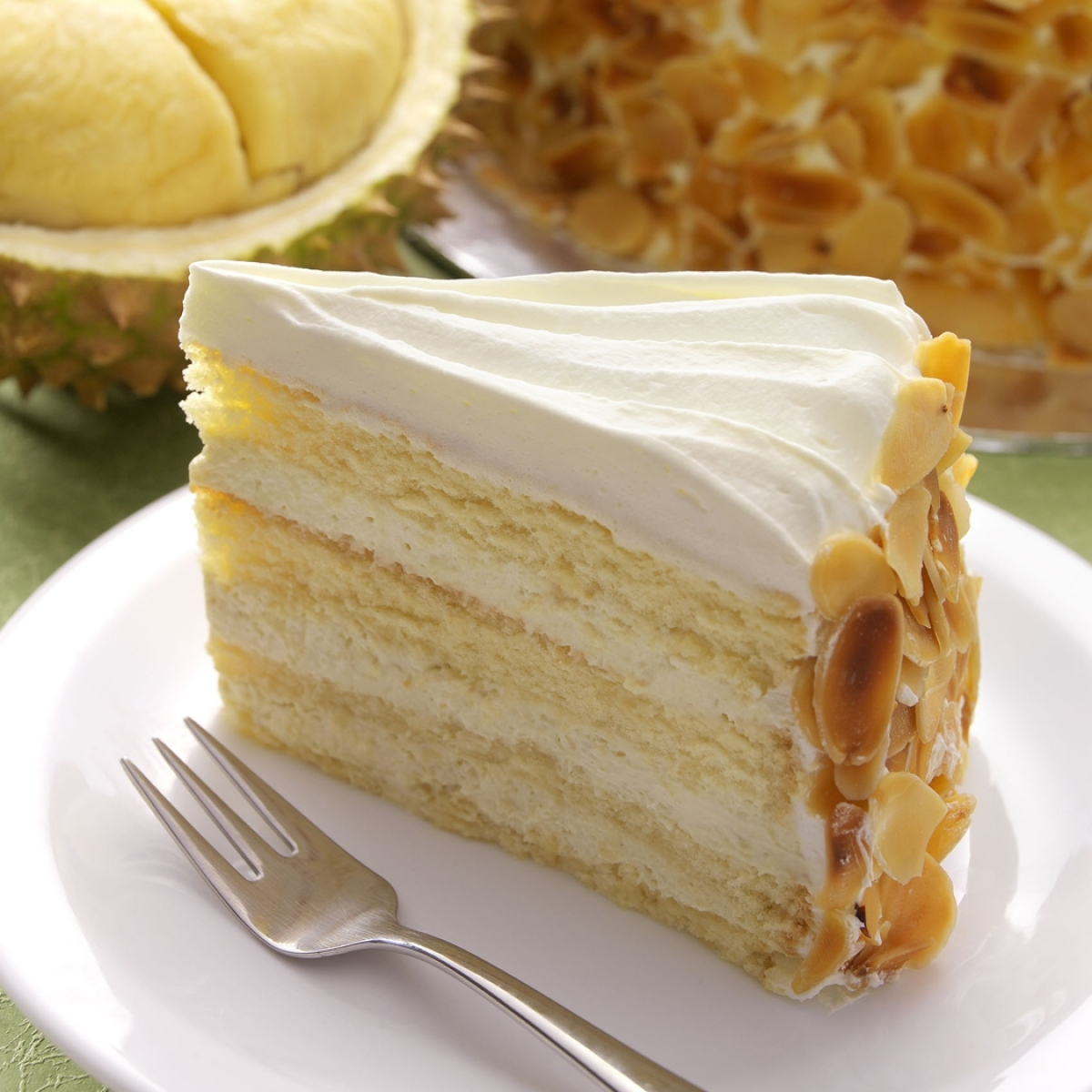 Durian Cream Cake Recipe