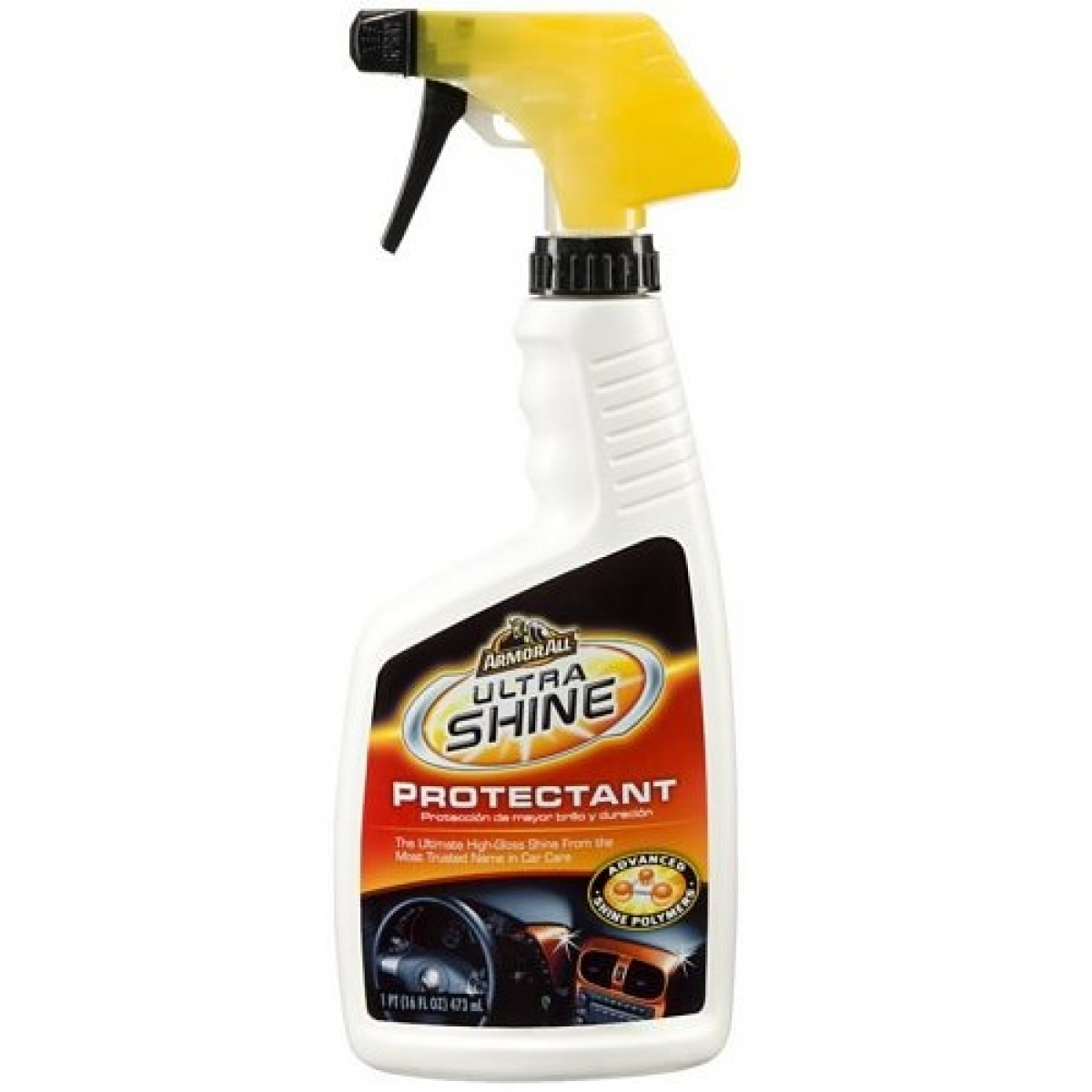 armor all 10345 ultra shine protectant 16oz shop for your car care products. Black Bedroom Furniture Sets. Home Design Ideas