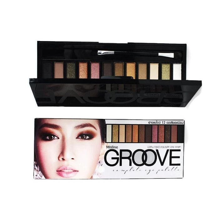 Mistine Groove Eyeshadow u2013 LLC Health Care Global