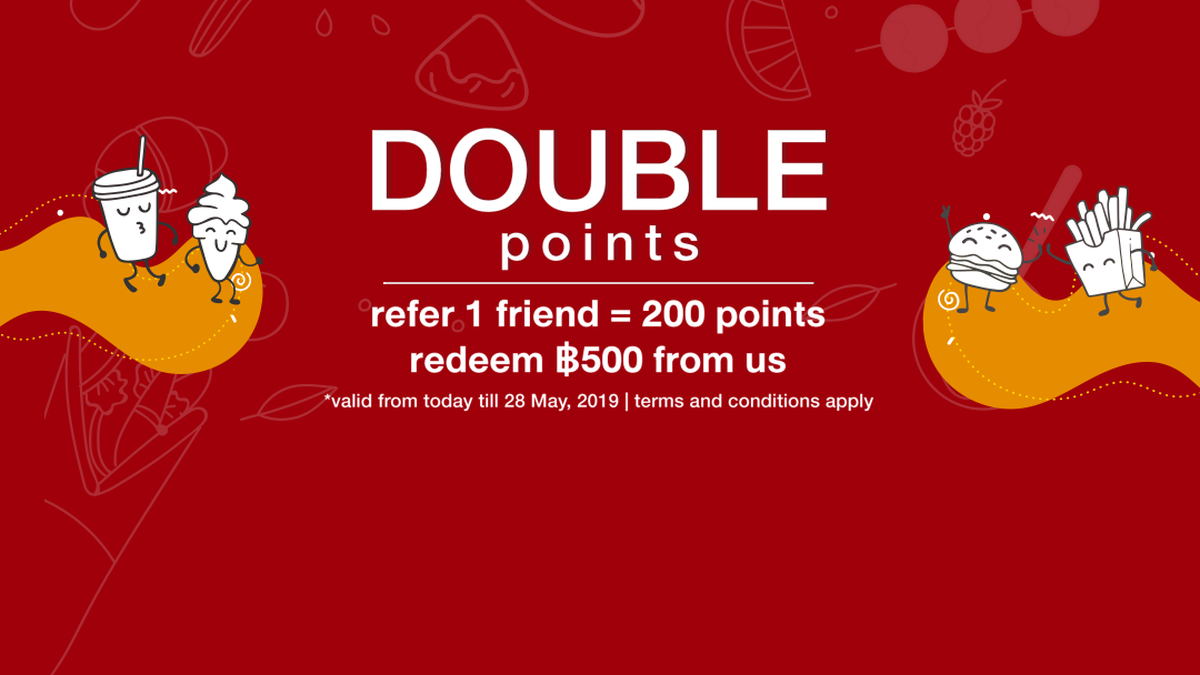 [Double Referral] Double-Up your Referral points only in 15-28 May! 2