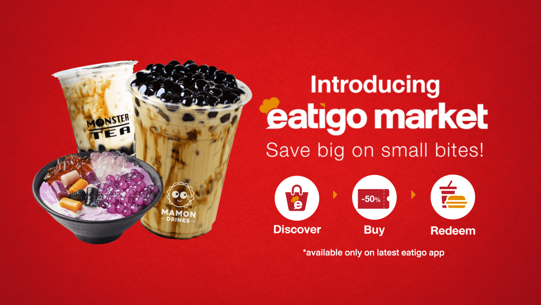 Introducing eatigo market - Save big on small bites! 7