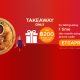 Attend 2 reservations, get 200THB  with TAKEAWAY2 promo! 2