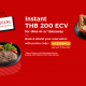 Apply WE200BACK to get Eatigo cash voucher 200THB 8