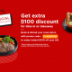 [FLASH SALE] Apply FLASHTH10 to get Eatigo cash voucher 100THB 10