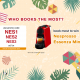 【DJI】WHO BOOKS THE MOST? Book to win a OSMO Pocket! 3