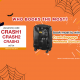 【Crash Baggage】WHO BOOKS THE MOST? Book to win a wheeled suitcase of Crash Baggage! 12