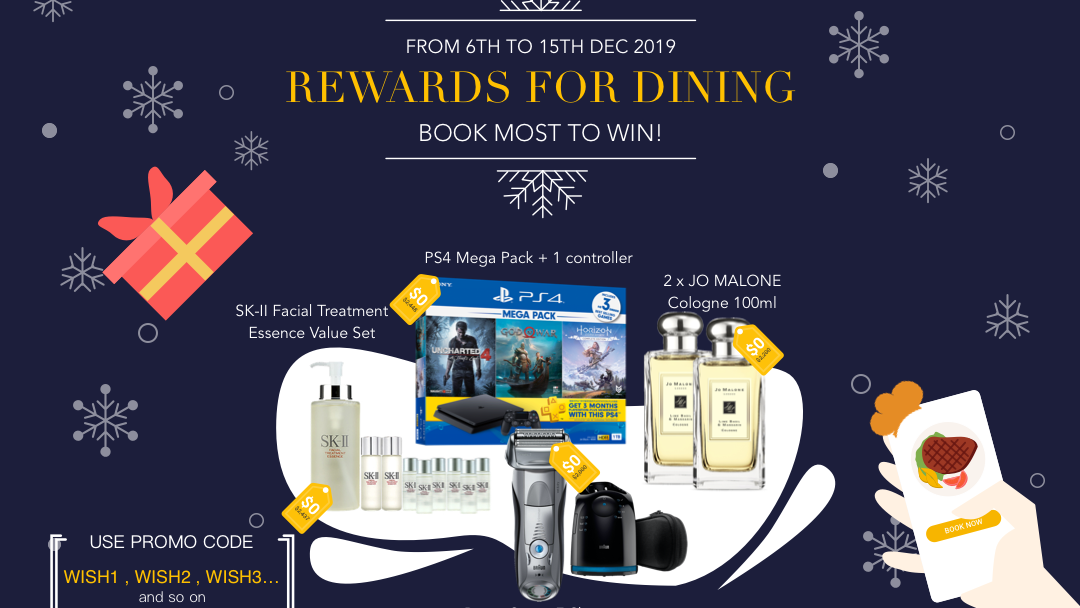 Rewards for dining? Book most to win a prize from us! (Winter Edition) 7