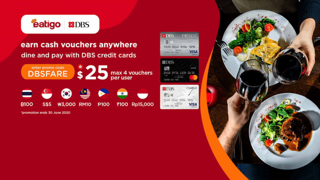 2020 Year-round Dining Rewards for DBS Credit Card Cardholders 8