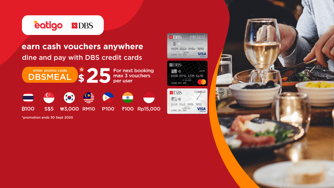 2020 Year-round Dining Rewards for DBS Credit Card Cardholders 10