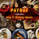 Payday Celebration: Top 5 Dining Deals 25