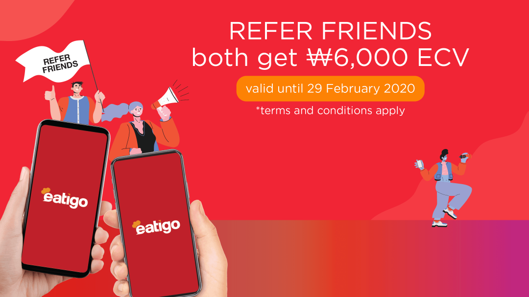 Refer friends and earn cash vouchers! 2
