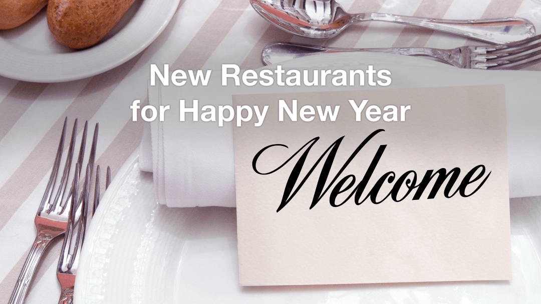 New restaurants for New year 22