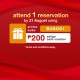 (KAONBESH) Attend your 1st reservation on Eatigo and get extra P100 off your bill! 3