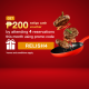 (TASTY2) Attend reservations with a promo code and receive up to ₱200 Eatigo Cash Voucher! 3