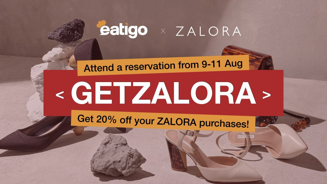 Flash Promo: Get your 20% off ZALORA! 21