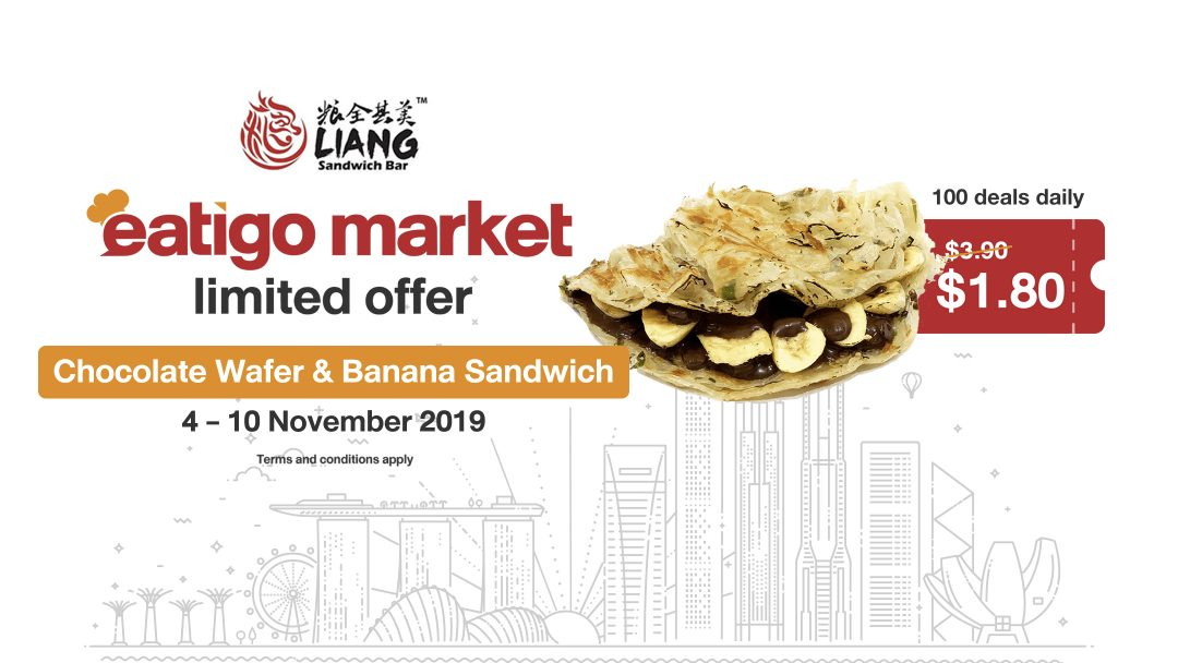Eatigo Market Flash Deal: Grab a $1.80 Sweet Treat from Liang Sandwich This Week! 10