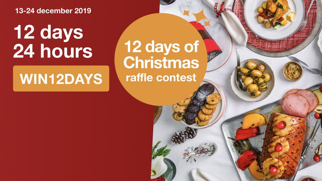 #eatigosgWIN: 12 Day of Christmas Raffle Contest 12