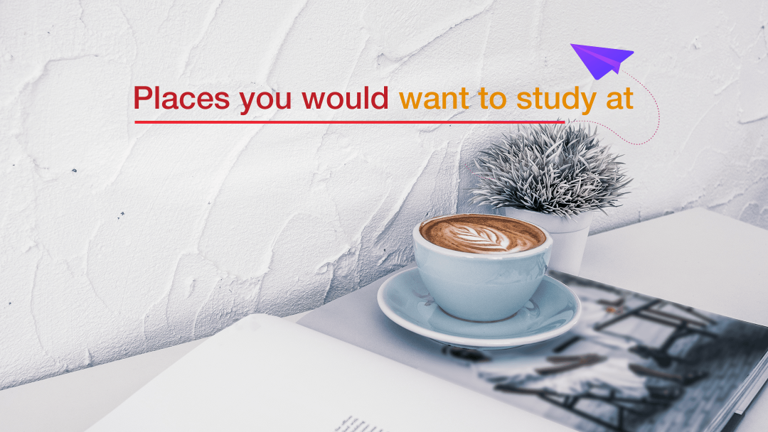 Places to study at 18