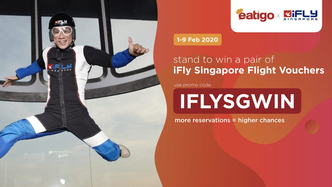 iFLY Valentine's Day Lucky Draw 4