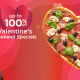 Get up to 100% off this Valentine's Weekend 10