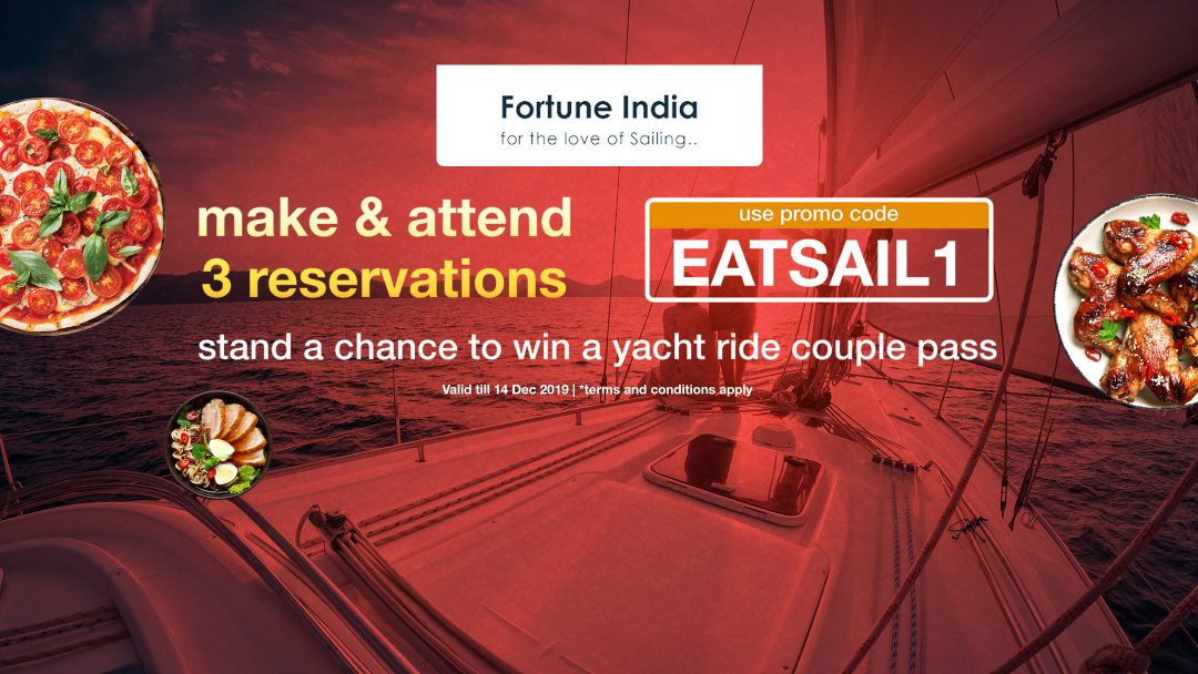 Stand a chance to win free yacht couple ride this month! 2