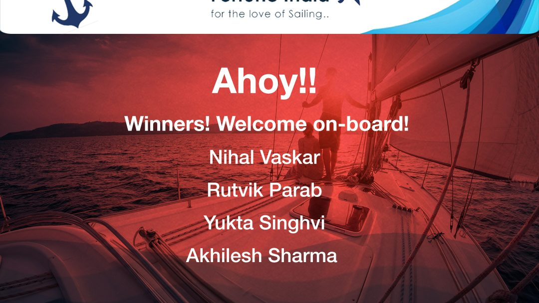 Stand a chance to win free yacht couple ride this month! 15