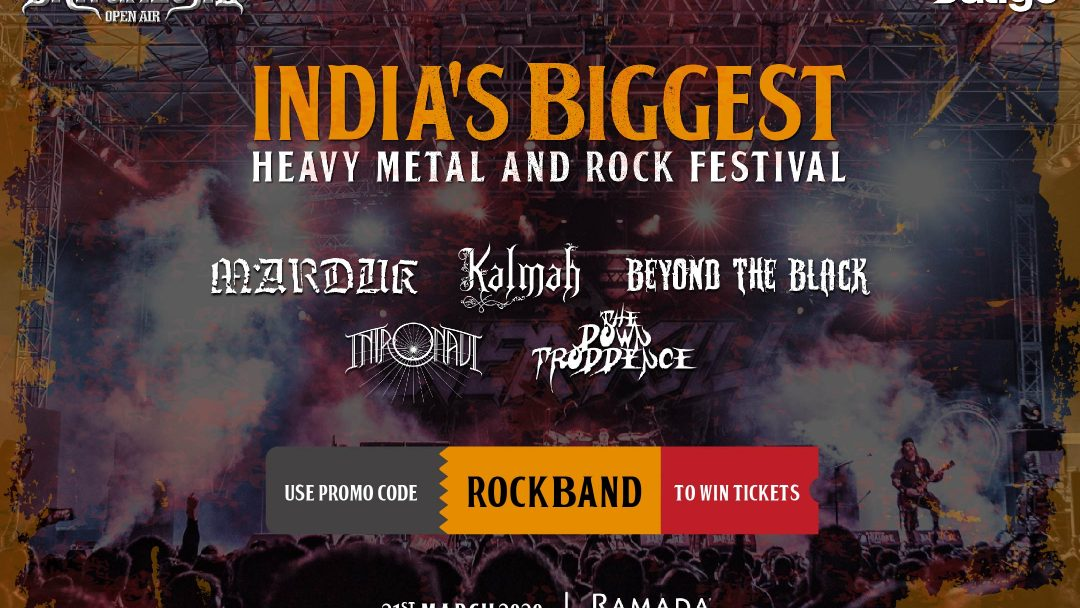 Rock on!! Bangalore Open Air 2020 is here! Make reservations and stand a chance to win concert tickets!! 20
