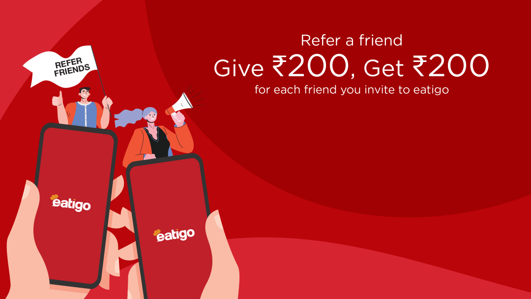 Earn twice the amount of eatigo cash vouchers this March! 15