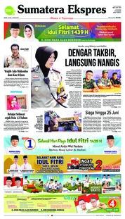 Sumatera Ekspres / 14 JUN 2018