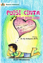 Cover PUISI CINTA tanpa tanda baca oleh