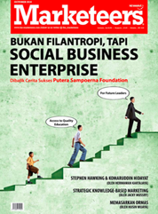 Marketeers Magazine Cover October 2010