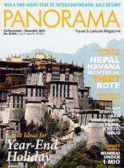 PANORAMA Magazine Cover November–December 2010